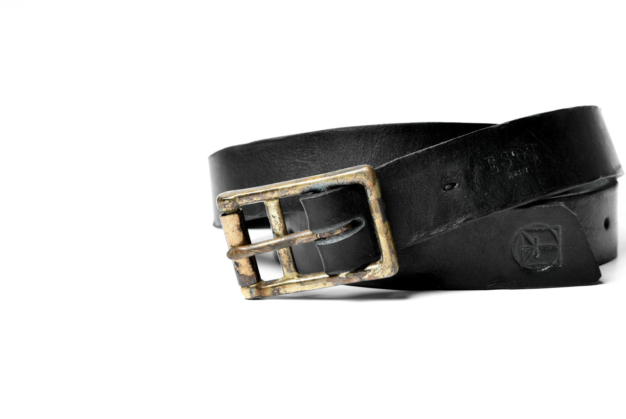 ESDE Brücke Cow Leather Belt (BLACK)