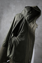 画像をギャラリービューアに読み込む, COLINA M-1948 HOOD PARKA COAT / HIGH DENSITY MILICLOTH (OLIVE)