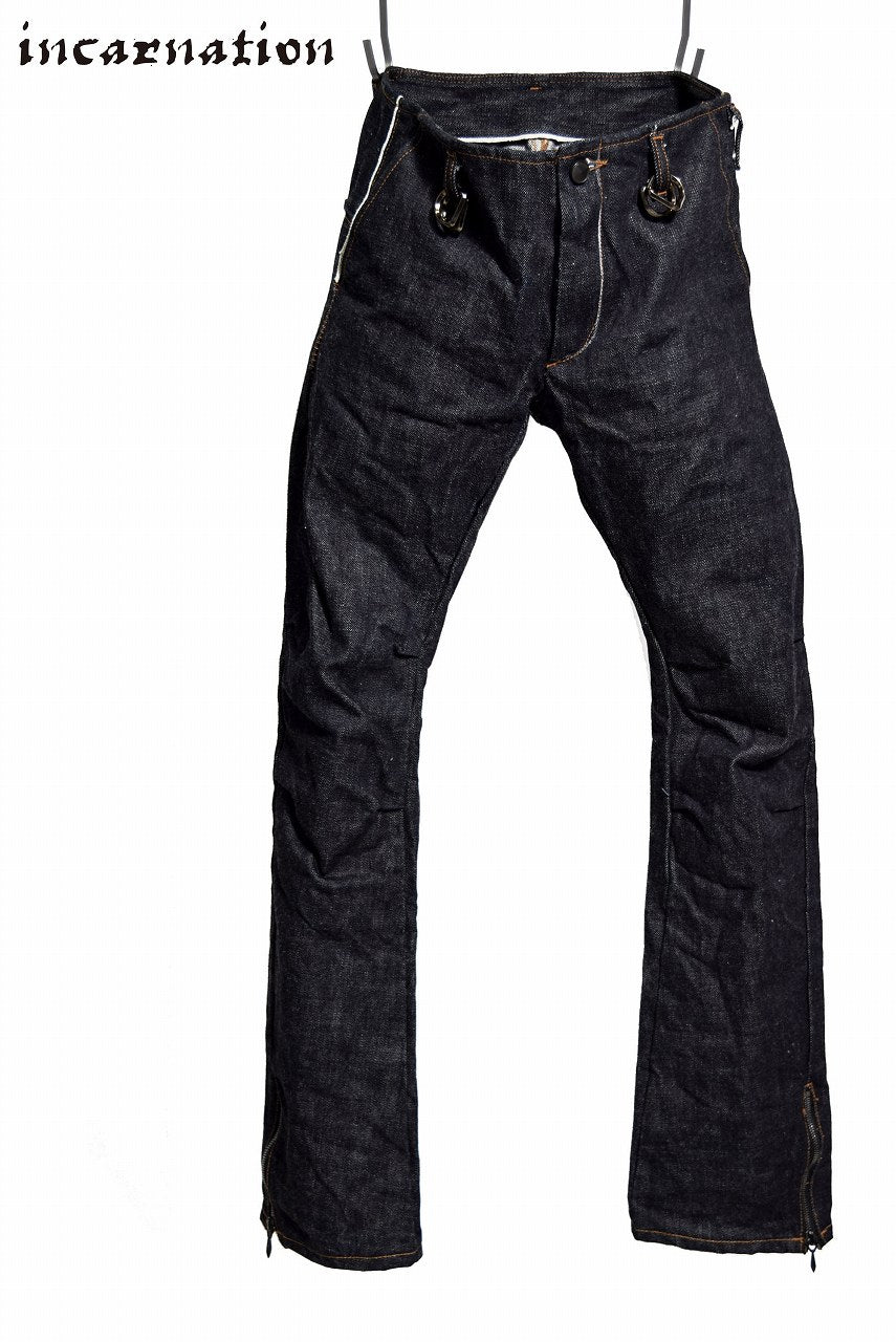 incarnation selvedge denim 15.5oz pants long length