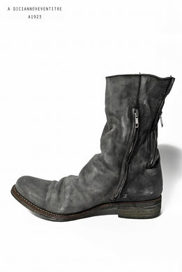 A DICIANNOVEVENTITRE A1923 DoubleFastner Boot Horse Oiled ST-3 (GRIGIO)