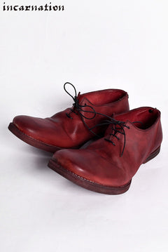 "画像をギャラリービューアに読み込む, incarnation exclusive CALF LEATHER SLIP-ON LINED LEATHER SOLED ""VURGUNDY DUST"""