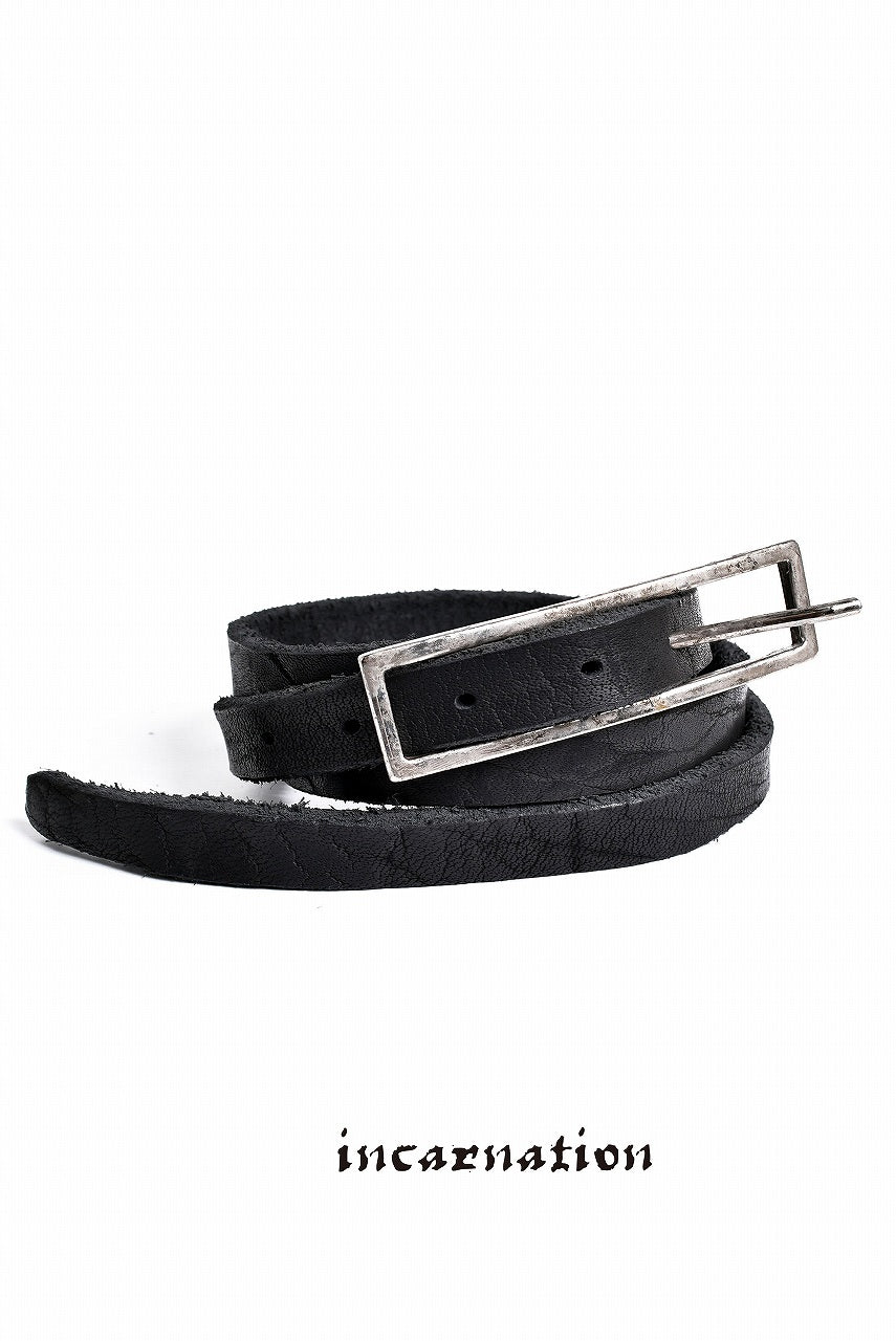 incarnation BUFFALO DOUBLE BEND BELT 0.75' LONG BUCKLE