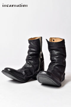 画像をギャラリービューアに読み込む, incarnation exclusive OILED CALF LEATHER SIDE ZIP HAND STICH LINED LEATHER SOLES