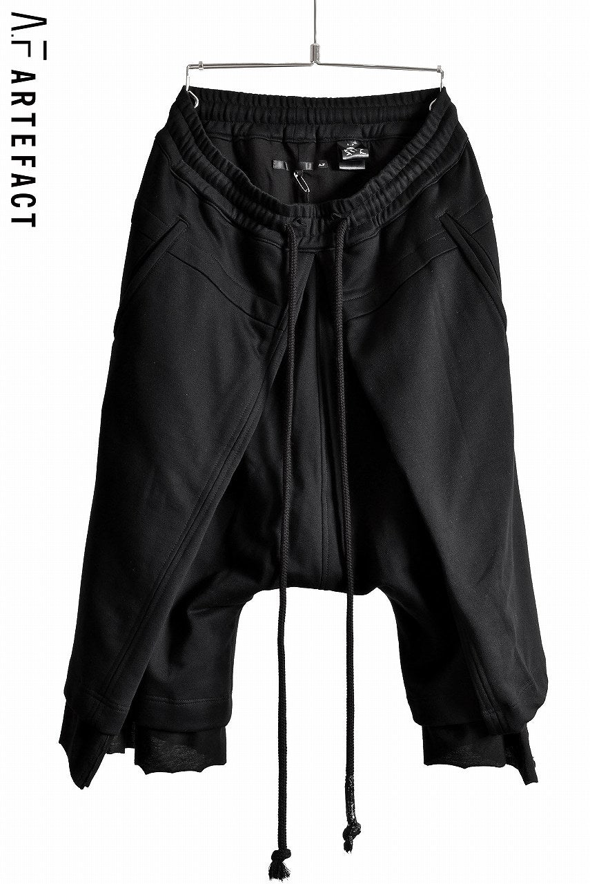 A.F ARTEFACT SWEATER FOLDING LAYER PANTS