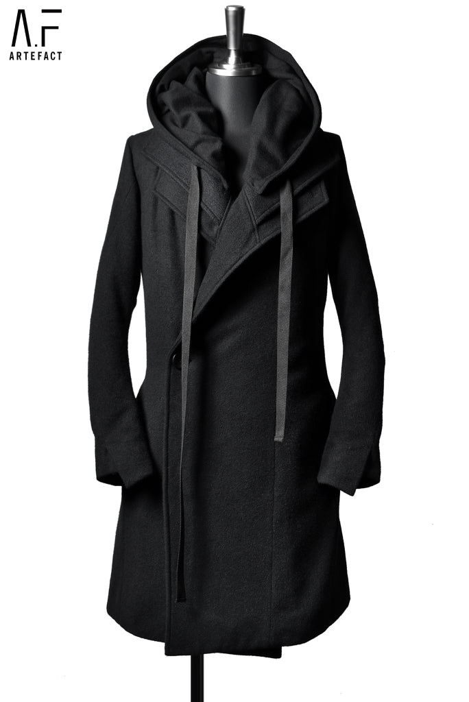 Load image into Gallery viewer, A.F ARTEFACT LAYER HOODED COAT