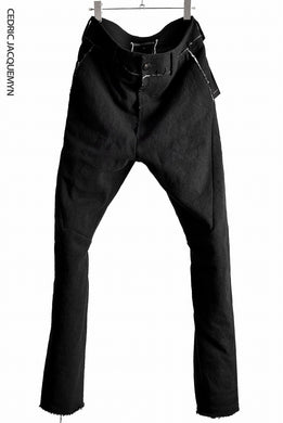CEDRIC JACQUEMYN  PADDED SUITS PANTS TR47 FA191 (BLACK)