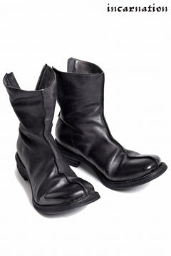 画像をギャラリービューアに読み込む, incarnation Calf Leather Back Zip Center Seam Lined Boots