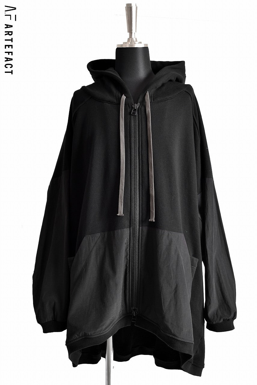 Load image into Gallery viewer, A.F ARTEFACT BIg Silhouette Hoodie Bomber Parka