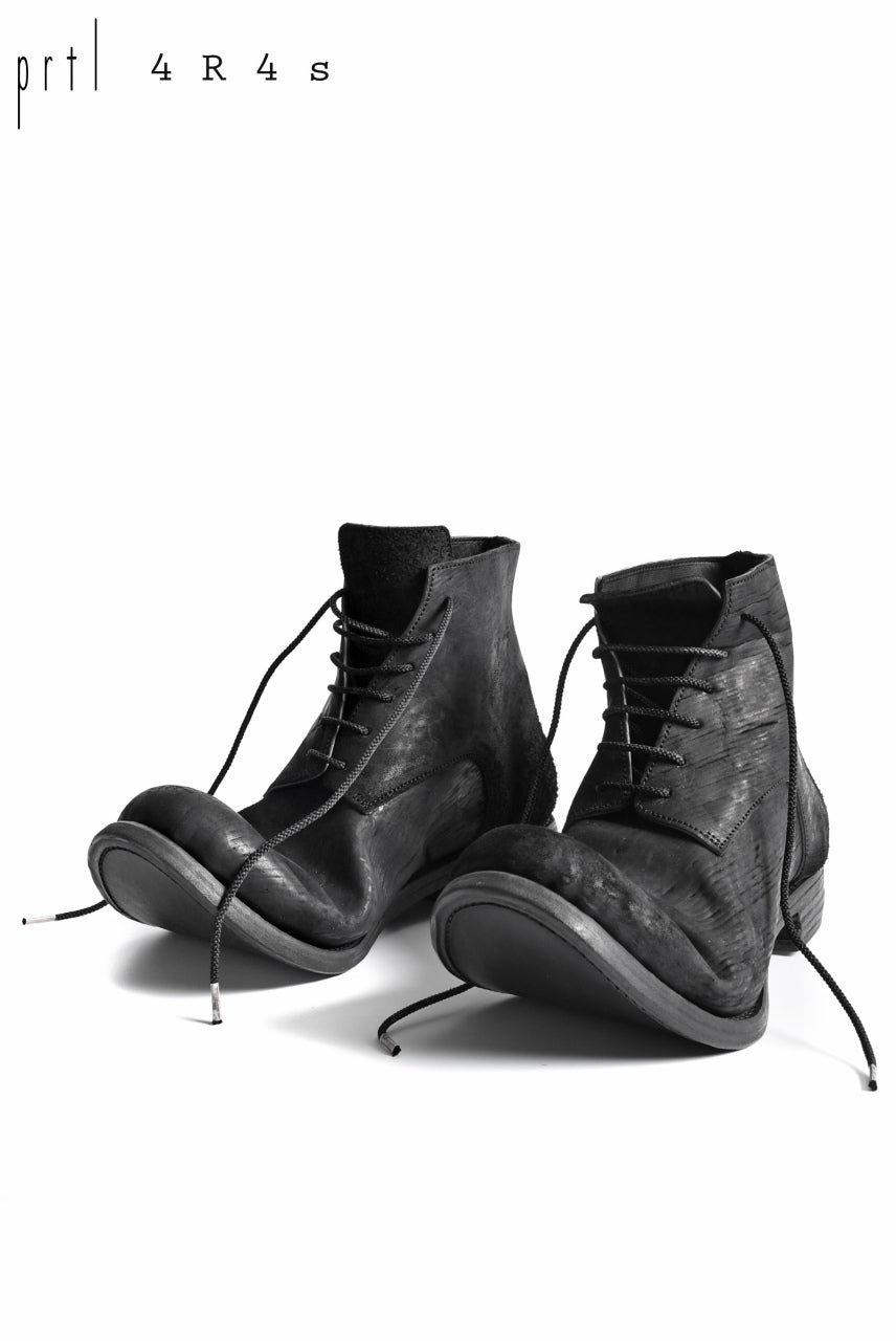 prtl x 4R4s exclusive 6Hole Laced Boots / CordovanSplit