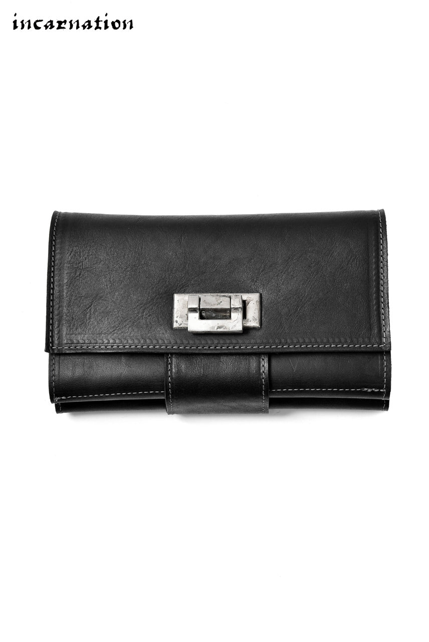 Load image into Gallery viewer, incarnation exclusive HORSE LEATHER WALLET LARGE #2