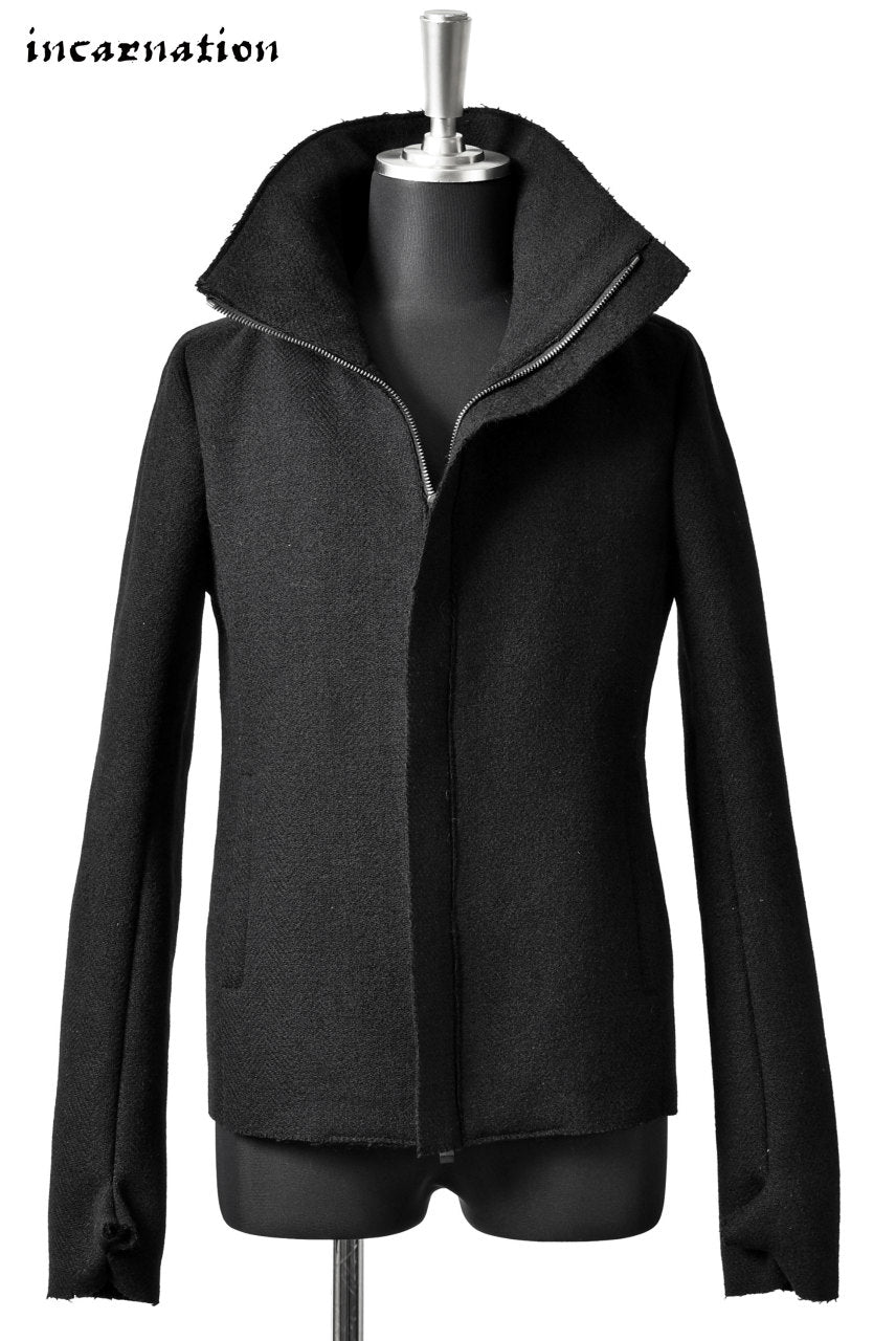 Load image into Gallery viewer, incarnation HEAVY MELTON HIGHNECK JACKET W/GLOVES
