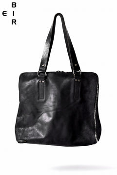 Load image into Gallery viewer, ierib onepiece tote bag / culatta hand dyed (BLACK)