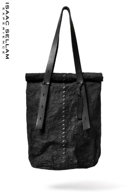 ISAAC SELLAM EXPERIENCE 2WAY FLANEUR. FORM. / TOTE BAG (NOIR)