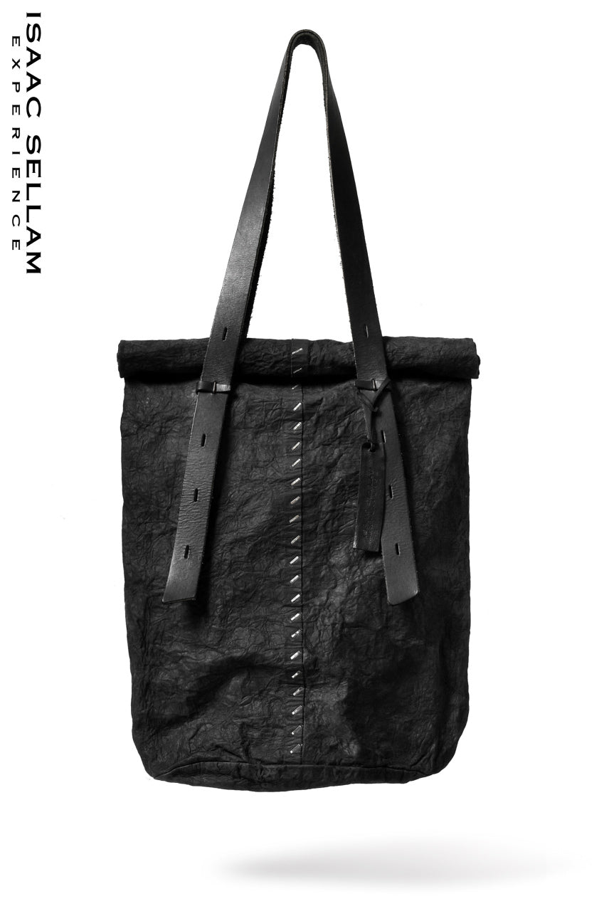 画像をギャラリービューアに読み込む, ISAAC SELLAM EXPERIENCE 2WAY FLANEUR. FORM. / TOTE BAG (NOIR)