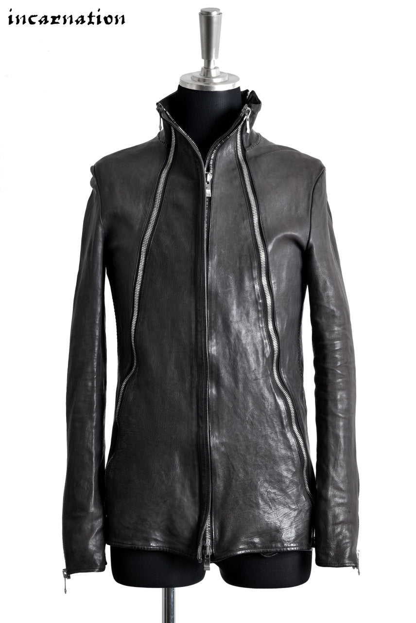 incarnation ZIPPER- SEAM JACKET / BABY CALF