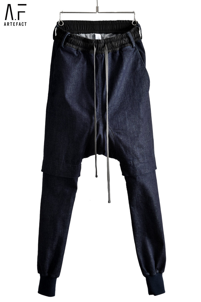 A.F ARTEFACT SARROUEL SKINNY STRETCH DENIM PANTS