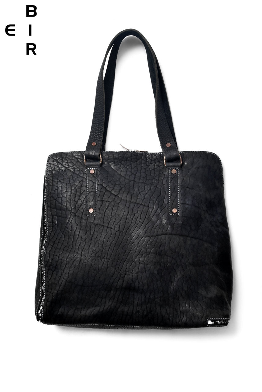 Load image into Gallery viewer, ierib onepiece tote bag / Rough-Bull (BLACK)