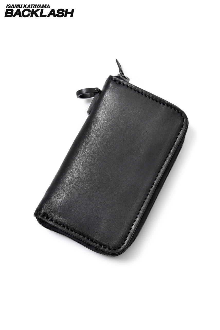 "ISAMU KATAYAMA BACKLASH ""MARYAM"" SMALL WALLET (BLACK)"