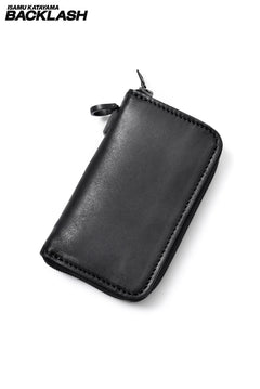 "Load image into Gallery viewer, ISAMU KATAYAMA BACKLASH ""MARYAM"" SMALL WALLET (BLACK)"