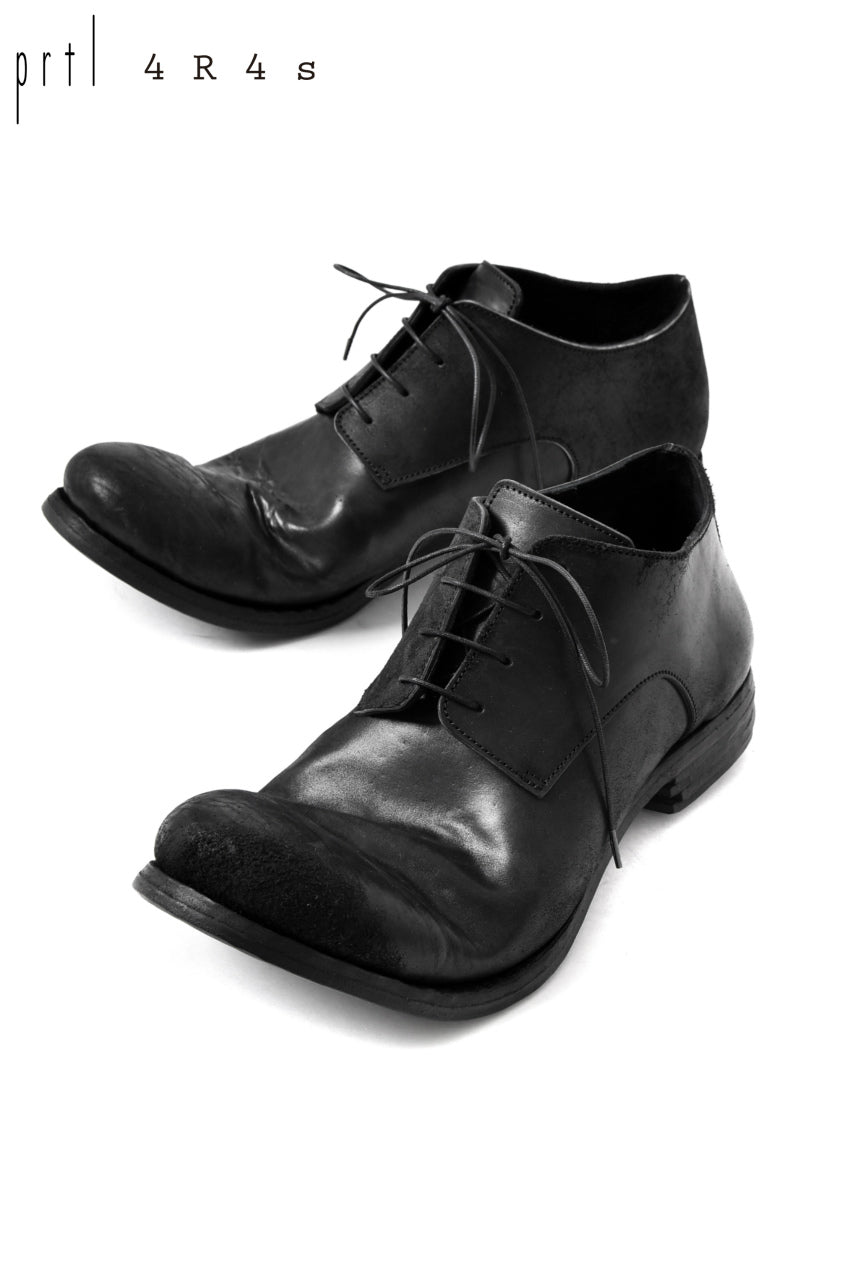 prtl x 4R4s exclusive derby shoes / Cordovan Full grain