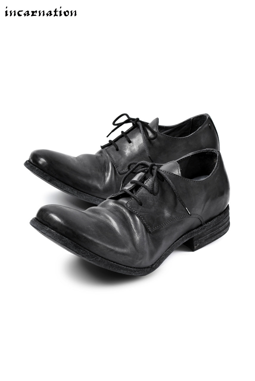 incarnation HORSE LEATHER DERBY SHOES #2