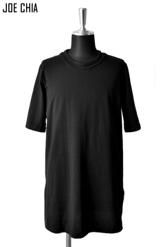 Load image into Gallery viewer, JOE CHIA REGULAR TSHIRT / COTTON JERSEY (BLACK)