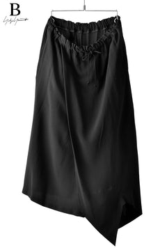 Load image into Gallery viewer, B Yohji Yamamoto B/ZZ SKIRT PANTS (BLACK)
