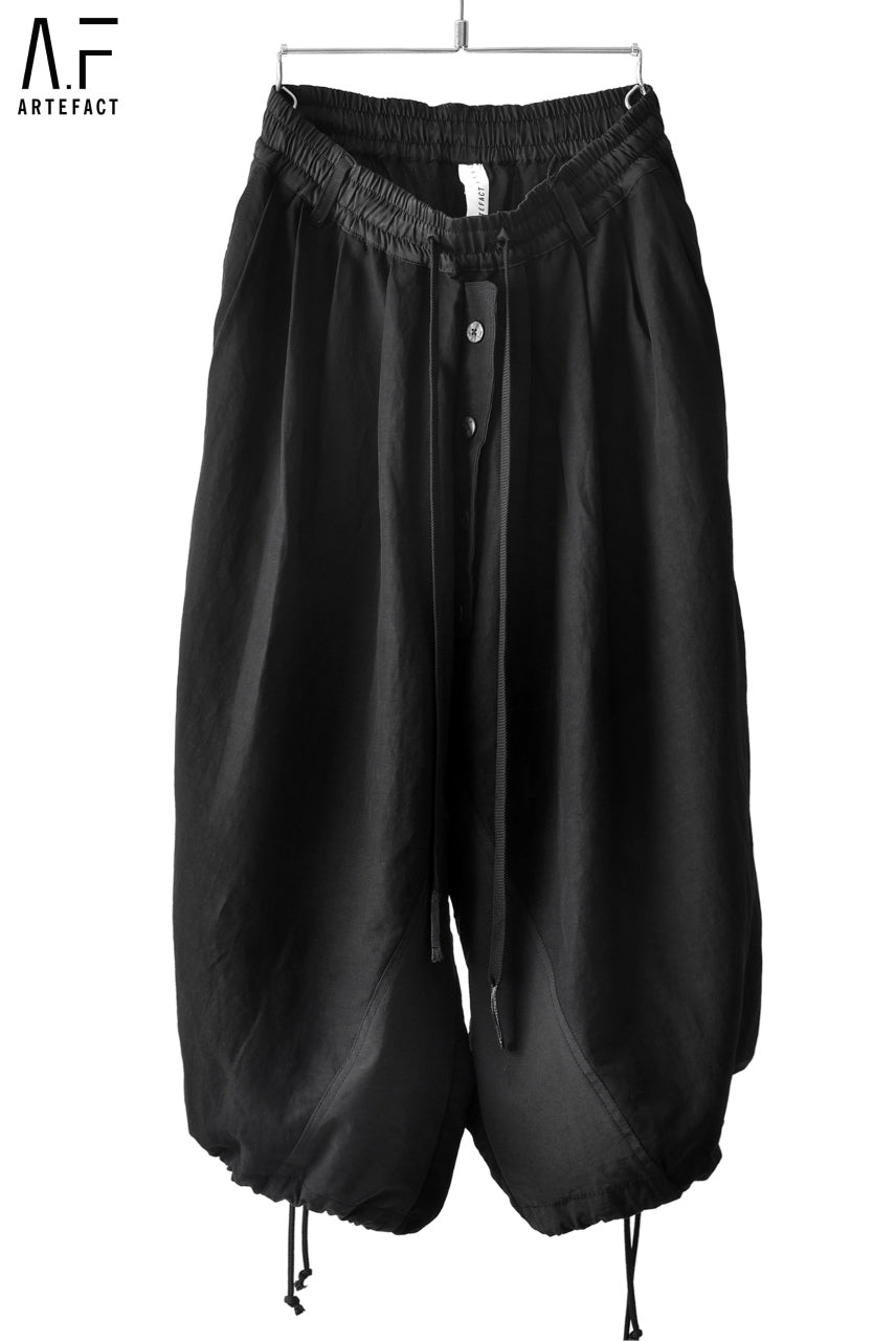 A.F ARTEFACT BALOON WIDE SILHOUETTE PANTS