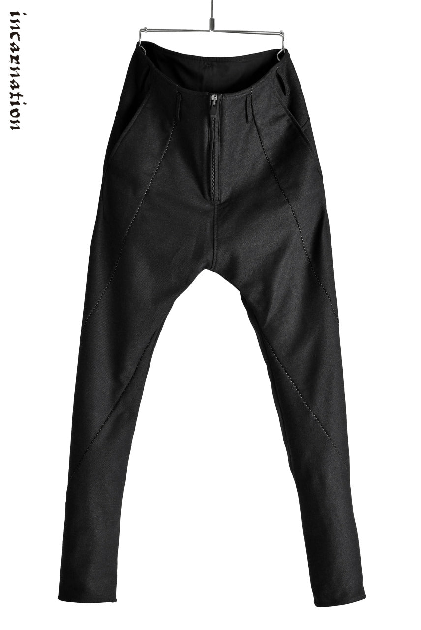 incarnation TWISTED DROPCROTCH PANTS / COTTON DOBBY(HeatPerformance)