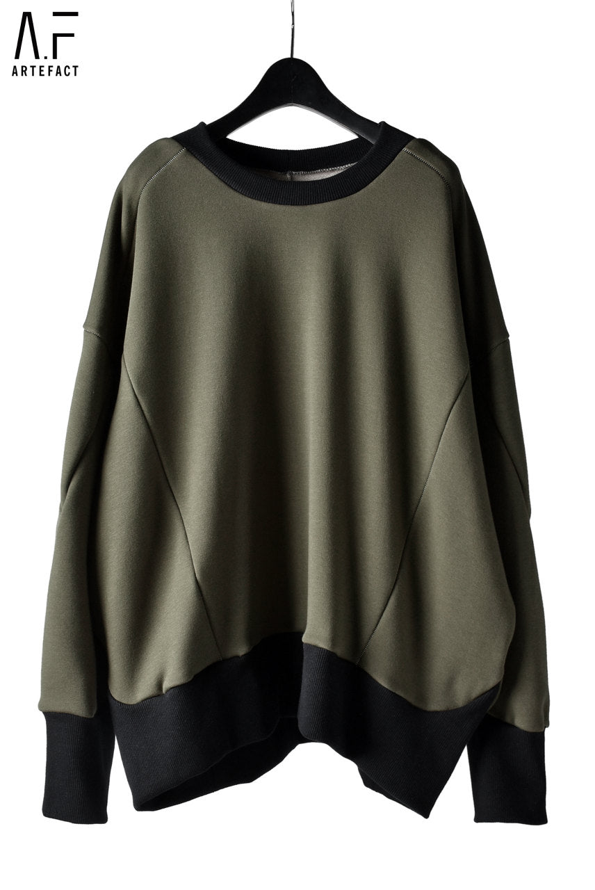 A.F ARTEFACT exclusive BomberHEAT® OVERSIZED TOPS (KHAKI)