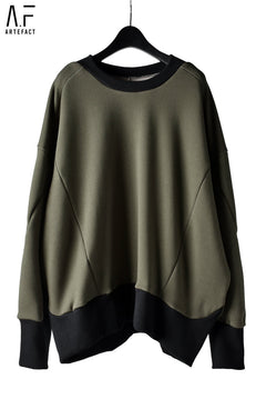 画像をギャラリービューアに読み込む, A.F ARTEFACT exclusive BomberHEAT® OVERSIZED TOPS (KHAKI)