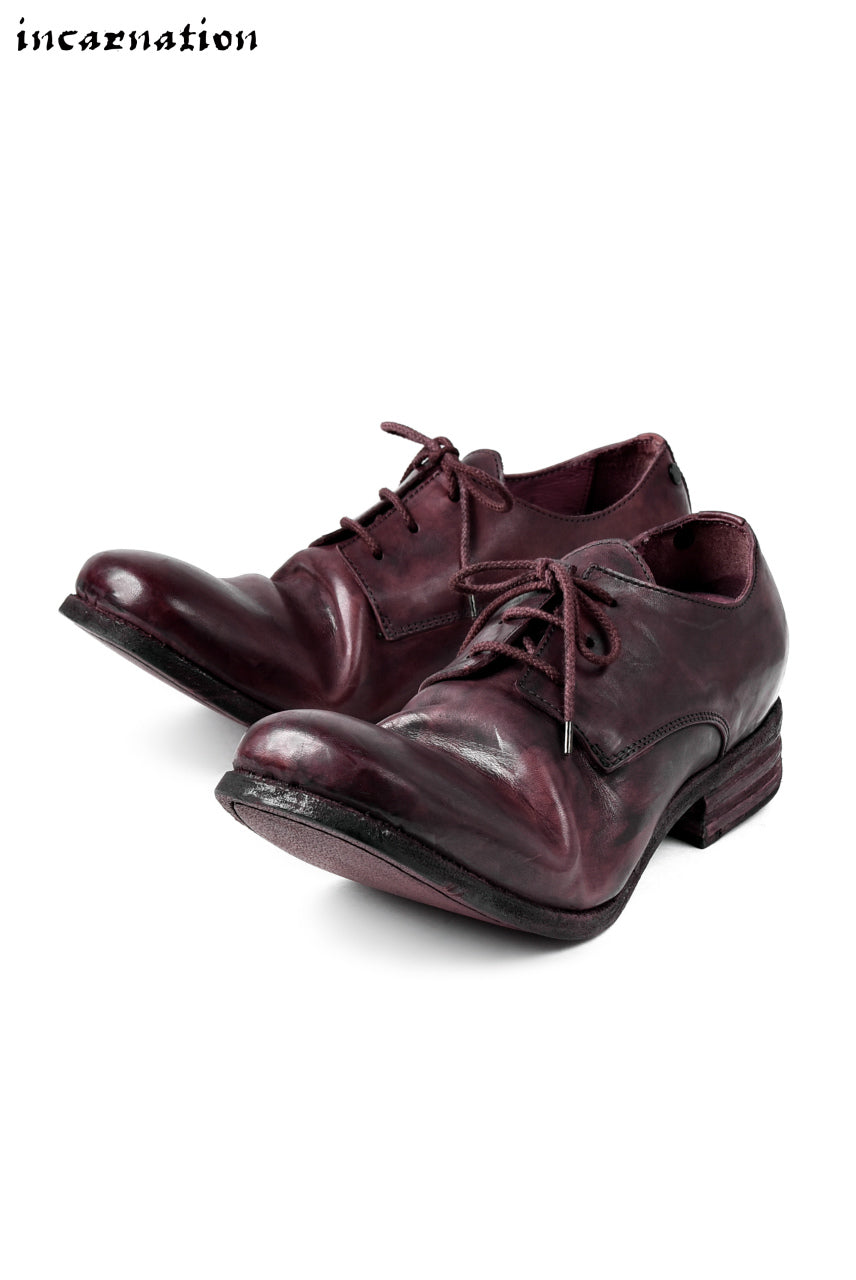 incarnation exclusive HORSE LEATHER DERBY SHOES #2 / HAND DYE