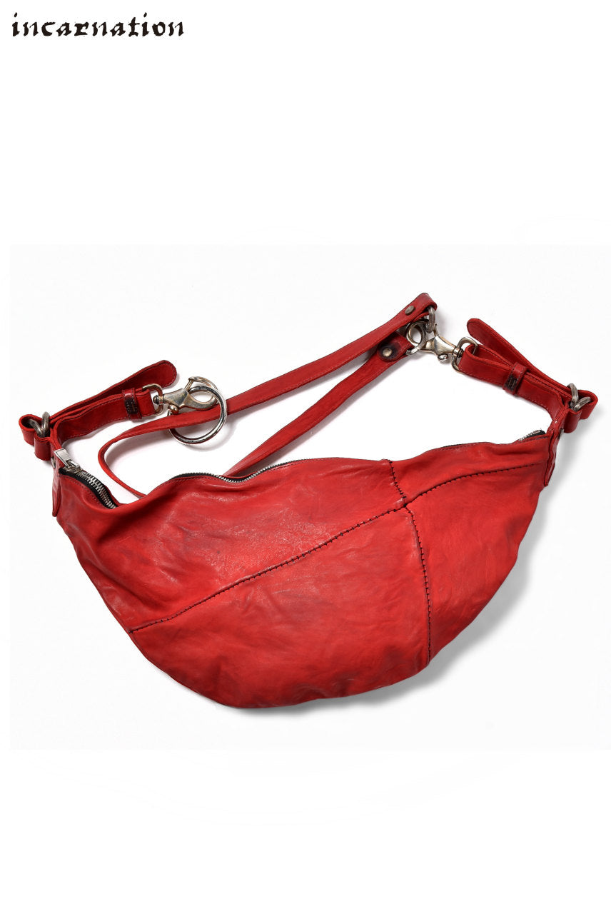 incarnation exclusive HORSE LEATHER 3WAY BAG/BUM FLAP