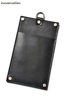 Load image into Gallery viewer, incarnation exclusive CALF SHOULDER LEATHER POUCH with D-RING