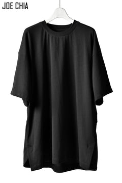 Load image into Gallery viewer, JOE CHIA SHOULDER BLADE PANEL TOP / Cotton Jersey (BLACK)