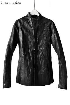 Load image into Gallery viewer, incarnation exclusive CALF LEATHER CONSTRUCTIVE SHIRT