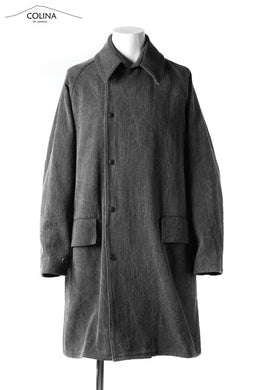COLINA WORK COAT / SASHIKO JP-INK DYED (SUMI)