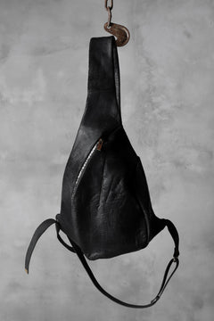 画像をギャラリービューアに読み込む, ierib exclusive One Shoulder Bag / horsebutt + nicolas italy vachetta (BLACK)