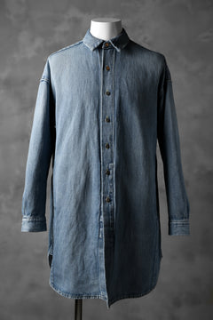 Load image into Gallery viewer, ISAMU KATAYAMA BACKLASH COVER ALL SHIRT / COTTON LINEN DENIM