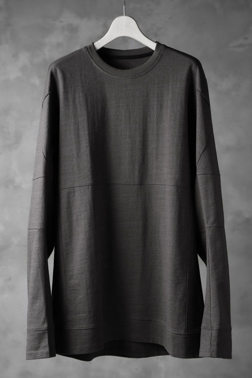 JOE CHIA SCULPTED LONG SLEEVE TOPS (GREY)