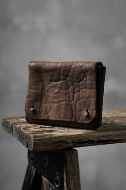 Chörds; TR CARD CASE / HORSE BUTT LEATHER (ROUGH / CAMEL)