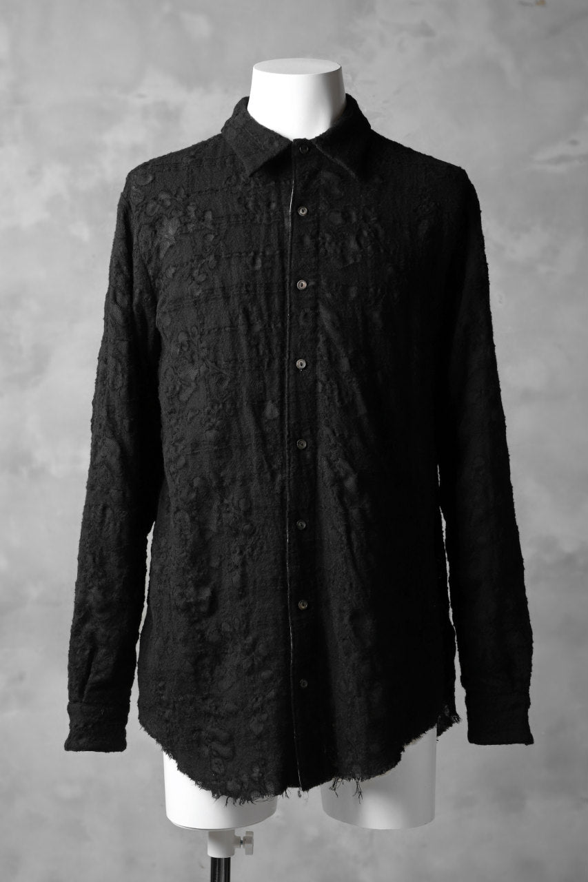 forme d'expression Juxtaposed Shirt -duo (BLACK)