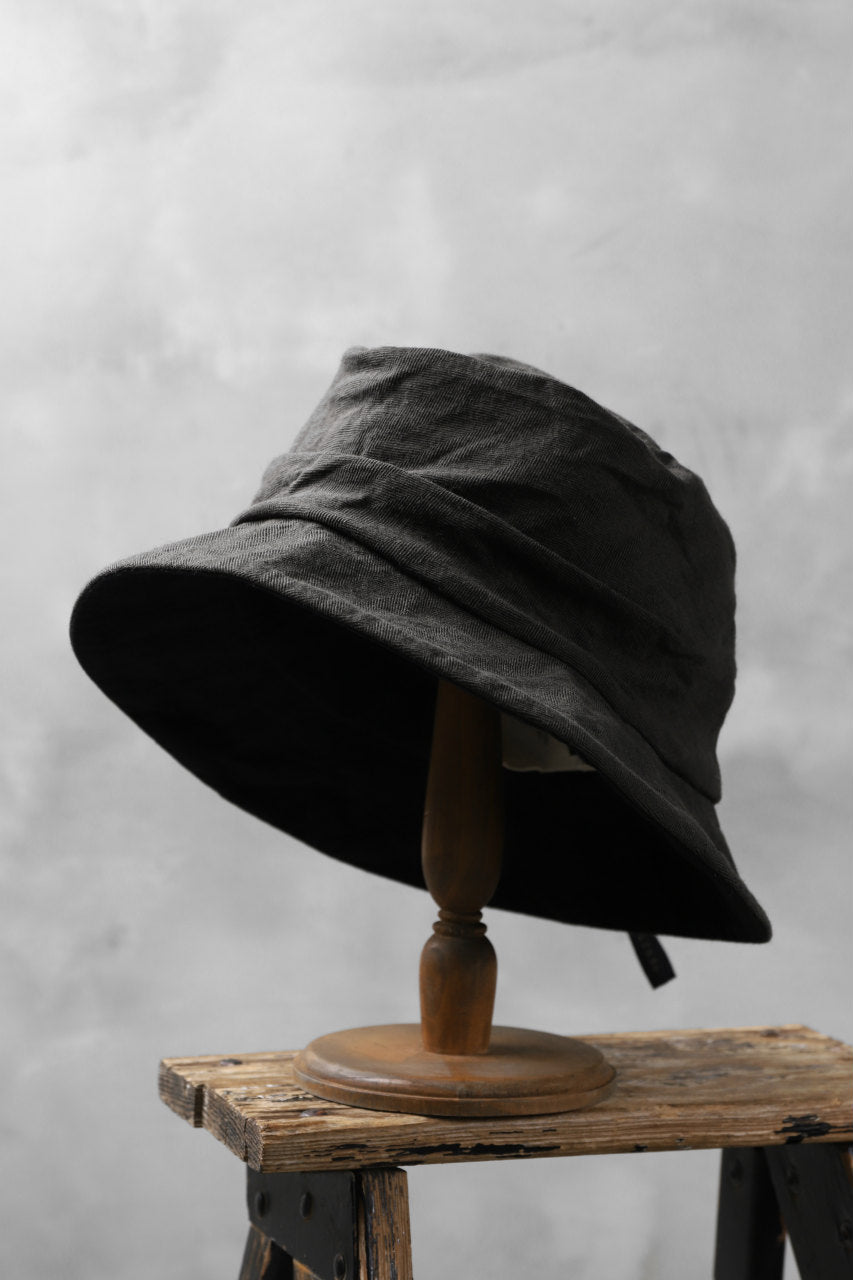 画像をギャラリービューアに読み込む, forme d'expression Reversible Panama Hat (Cypress+Night)