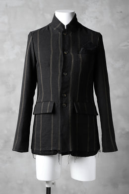 Aleksandr Manamis High Slit Drop Pocket Jacket