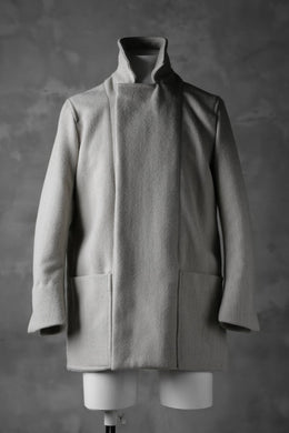 sus-sous chef jacket / W90N10 Raised back melton (ICE)