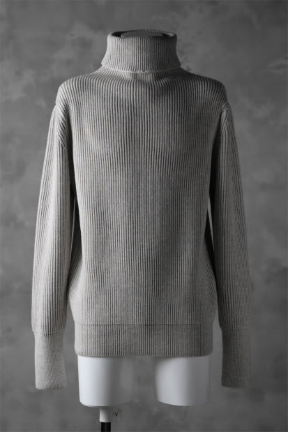 sus-sous fisherman turtle neck sweater / W100 5G Full (BEIGE TOP)