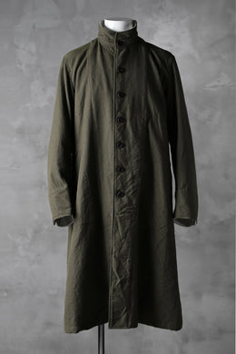 sus-sous medical coat / Vintage serge wool (KHAKI)