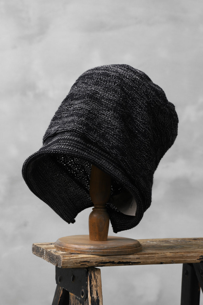 DANIEL ANDRESEN ×The Viridi-anne Reverse Knit Beanie