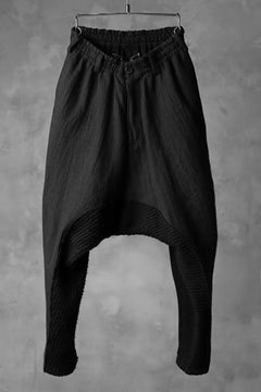 画像をギャラリービューアに読み込む, A.F ARTEFACT DROP CROTCH TAPERED PANTS / COMBI KNIT