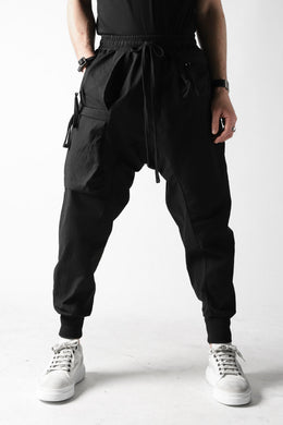 thomkrom EASY POCKETED PANTS (BLACK)